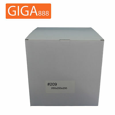 200 x Brand New Mailing Box 250x250x250mm Shipping Packing White Cardboard
