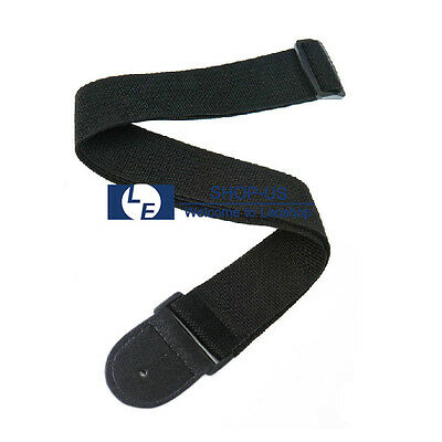 New Adjustable Acoustic Electric Guitar Strap Soft Nylon Leather Ends Youth Kids