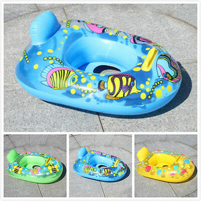 Inflatable Baby Mother Swimming Float Circle Seat Ring Pool Accessories Toy EPG