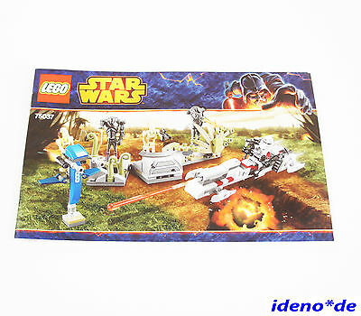 Lego Building Instruction Star Wars 75037 Battle On Saleucamei New
