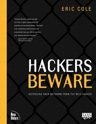 Hackers Beware by Cole, Eric Paperback Book The Cheap Fast Free Post