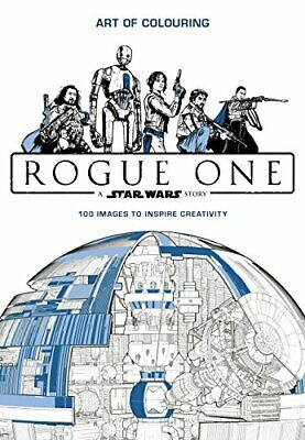 Star Wars Rogue One: Art of Colouring by Lucasfilm Book The Cheap Fast Free Post