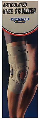 Active Support Neoprene Articulated Knee Stabilizer (Small) *Unboxed*