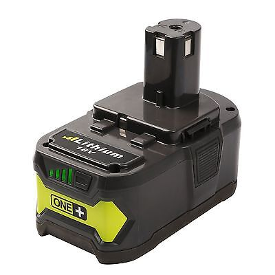 New 18V P108 4.0Ah Li-ion Battery Replacement for Ryobi 18-Volt ONE+ Tool