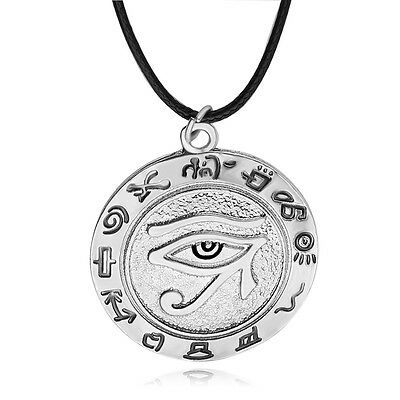 The Eye Of Horus Necklace Wedjat Eye Amulet Ancient Egyptian Religion Symbol