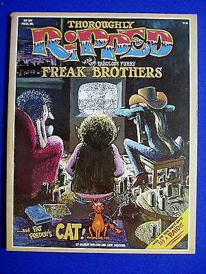 Thoroughly Ripped with the Fabulous Furry Freak Brothers.  Shelton. 1st edn.