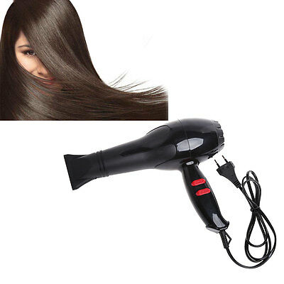 Professional Hair Blow Dryer 1800W Heat Blower Dryer Hot Cold Wind Salon EU Plug