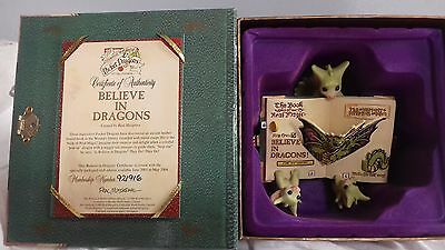 Whimsical World of Pocket Dragons 'Believe in Dragons' club edition in box