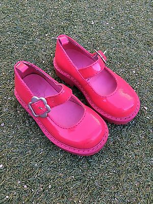 Gap Baby Girls Pink Buckle Mary Jane Style Shoes Size 5/6 Leather upper EUC