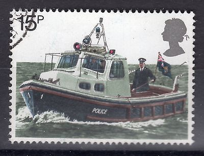 1979 SG 1103 15p River Patrol Boat Very Fine Used