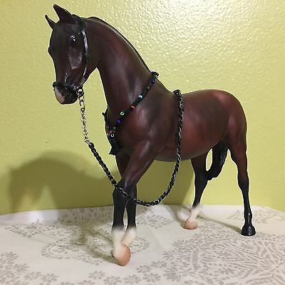 Breyer horse, No. 647, Bay Arabian Mare