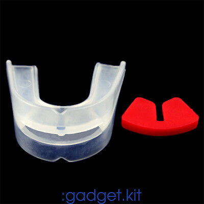 Double side boxing tooth//Sanda mouthguard//wear braces Teeth Protector K1M2
