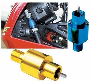 Motorcycle Mechanical Speedo Converter KPH-MPH Top Fit Cable Mount Converter