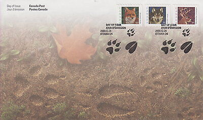 Canada #1879-1881 Wildlife Definitives First Day Cover