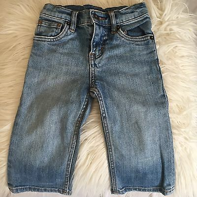 Country Road Baby Cotton Blue Jeans Size 12 18 Months 0