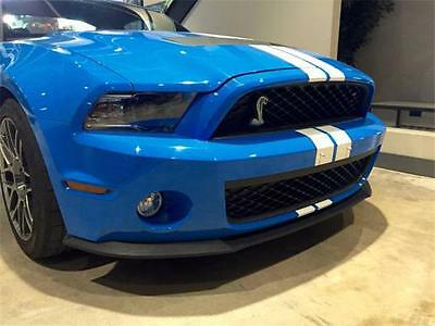 2012 Ford Mustang -- 2012 Ford Mustang  Blue Hardtop 5.4 Liter V8 / 550 hp 6-Speed M/T