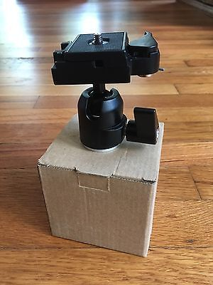 360 Rotating Ball Head + Quick Release Plate