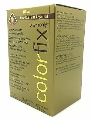 One N Only Colorfix Kit Permanent Hair Color Remover Corrector