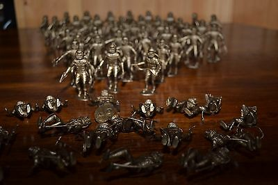 LOT Of 44 MPC Astronaut Spacemen FIGURINES Gold + 16 Not Marked INV.#(517-26)