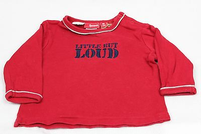 Boys SPROUT Long Sleeved Red T-Shirt  / Size 00