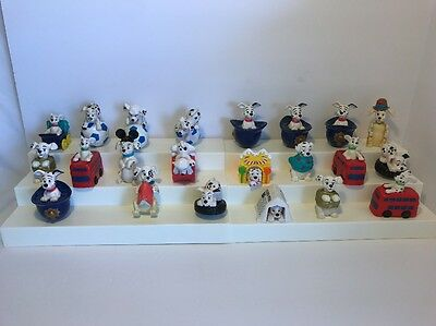 McDonalds 101 Dalmations Toy Lot (22 Figures) Pre-owned