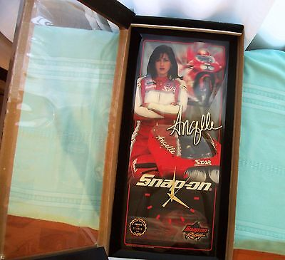 """RARE NEW IN BOX Limited Edition """"Angelle"""" Snap-on Jebco wall clock"""