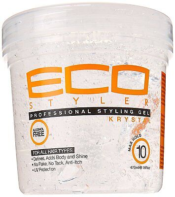 Eco Styler Krystal Professional Styling Gel Maximum Hold 16 oz