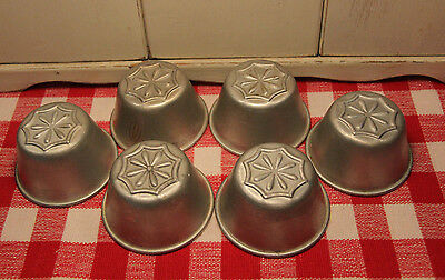 Sweet Vintage Mini Muffin / Jell O style Aluminum Cups ~ These are Darling!