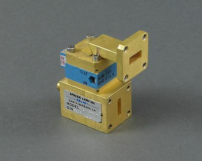 Spacek 01208274-01 WR-42 to SMA Female Waveguide Component w/ Isolator & Bend
