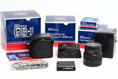 Zenza Bronica GS-1 Outfit w. 3.5/100mm in Boxes