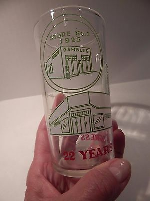 Vintage - 1947 - Gambles Dept. Store Measuring Glass