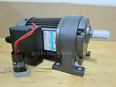 Sesame Gear Motor Chip Conveyor Auger 1 Phase 110V-220V G12H200G-90