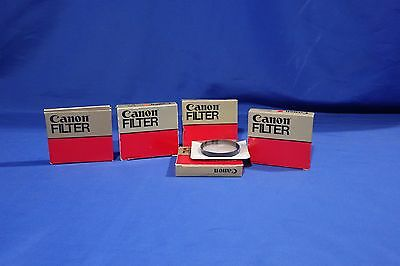 LOT of Various Canon Filters #L1874BP