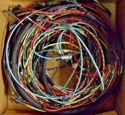 willys jeep complete wiring harness 1954-56 station wagon l-226 new