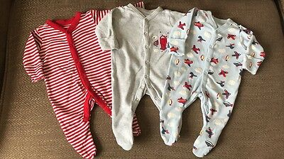 Mothercare Sleepsuits New Baby