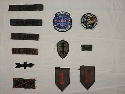 Military Patches Assorted