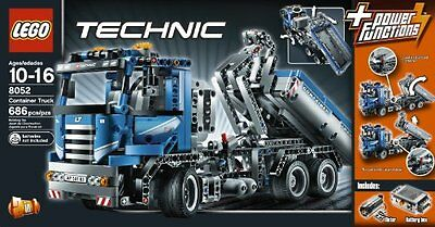 LEGO 8052 - TECHNIC CONTAINER TRUCK with POWER - Brand New - ORIGINAL SEALED BOX