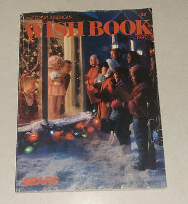 Vintage Sears Christmas Wish Book catalog 1990 vintage toys video games