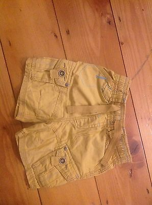 Next infant baby Summer shorts. 6-9 months