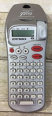 Dymo Letra Tag Handheld Personal Portable Label Maker - Tested and works