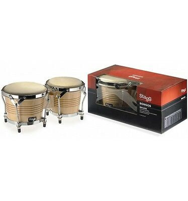 Bongos Stagg BW-200-N Naturel