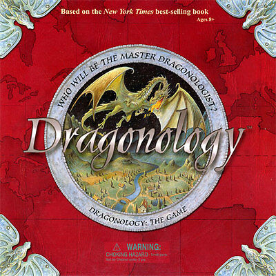 NEW!  MISB ~ Dragonologology ~ Outstanding Board Game ! ~ Make Room on the Shelf