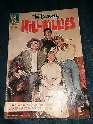 Beverly Hillbillies # 1 G/VG dell tv show silver age photo cover movie lot run