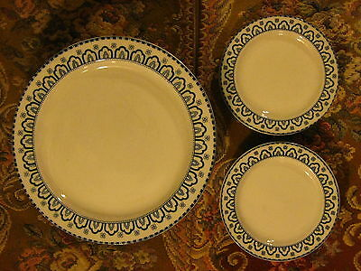 16 Berkley Woods Ware England Blue & white Porcelain Plate