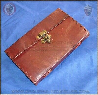 Leather Journal - Swing Clasp - Swing  Handmade Cotton Paper Unlined 25cm x 18cm