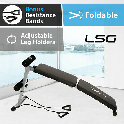 Adjustable Sit Up Abdominal Bench Press Weight Home Gym Exercise