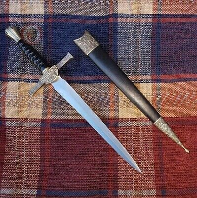 Macleod Dagger and Scabbard Highlander Clan Scottish