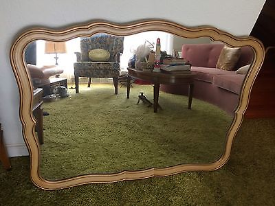 Vintage Drexel Touraine French Provincial Bedroom Mirror