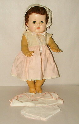 "! 1950s AMERICAN CHARACTER TINY TEARS DOLL 20"" TALL LOT 2"