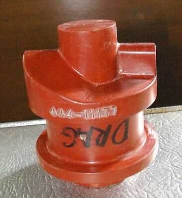 Vintage Solid Small shaft Unusal Geometric Shaped Pattern Foundry Casting Mold